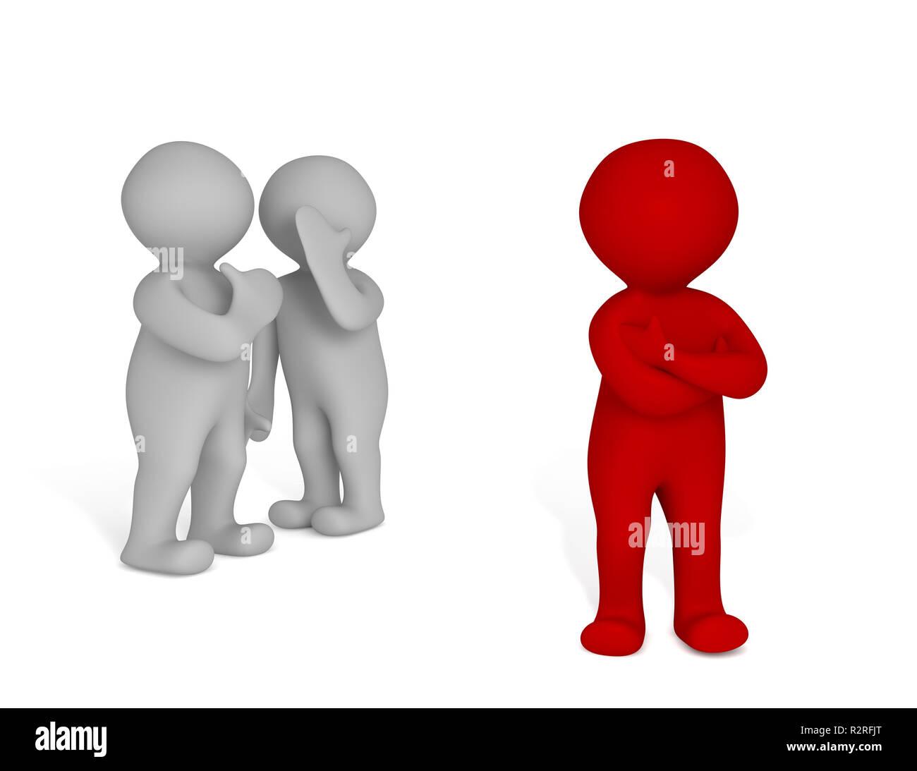 mobbing Imagen De Stock