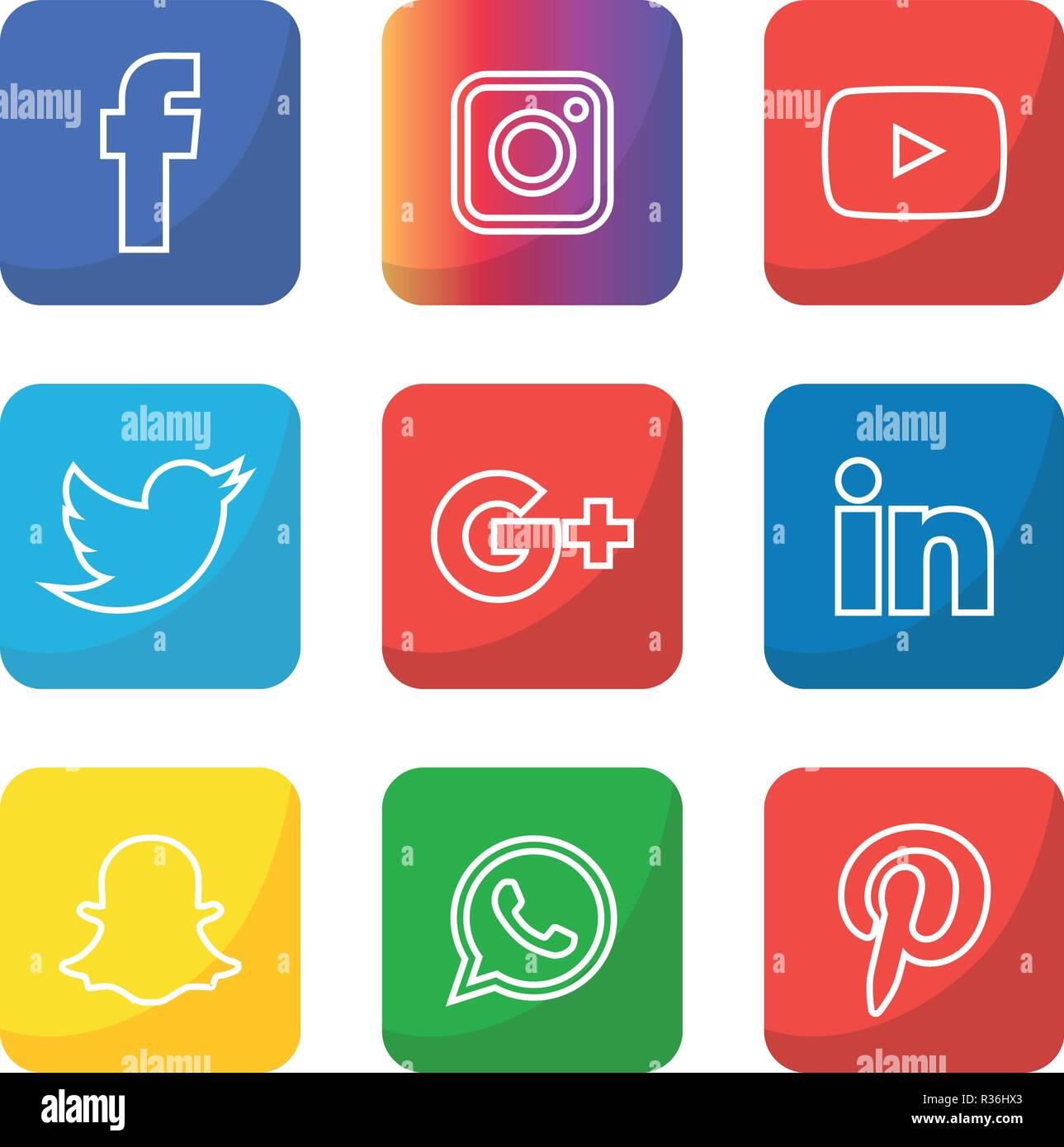 Icons Whatsapp Transparente Cuadrado Iconos Face