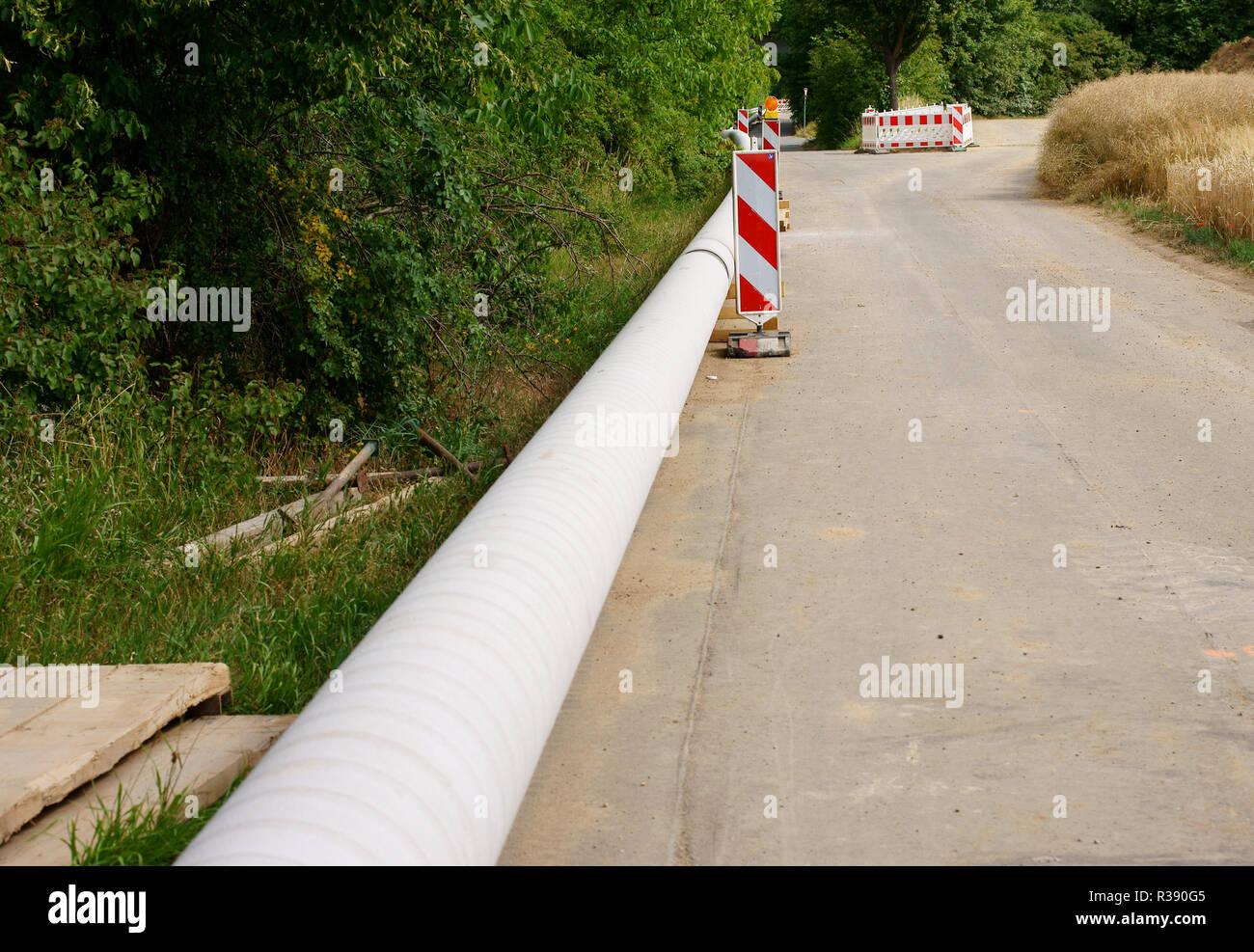 Barrera de carretera Foto de stock