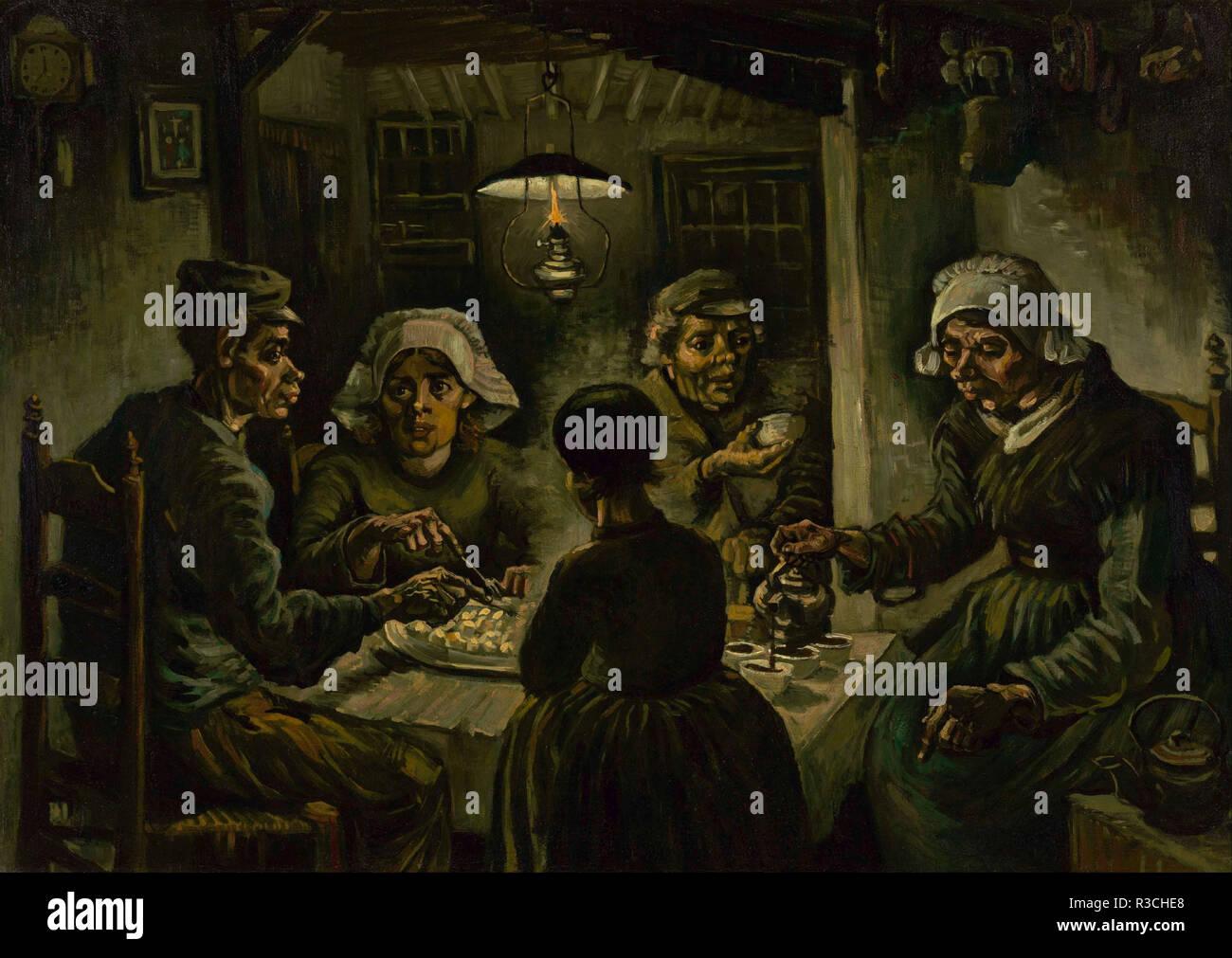 Los comedores de patatas. Fecha/período: abril 1885 - Mayo ...