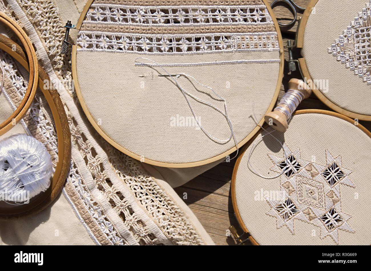 Scandinavian Embroidery Imágenes De Stock & Scandinavian Embroidery ...