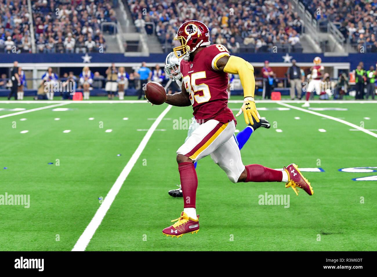 f170d4b304c Noviembre 22, 2018:.Washington Redskins apretado final Vernon Davis (85)  intercepta