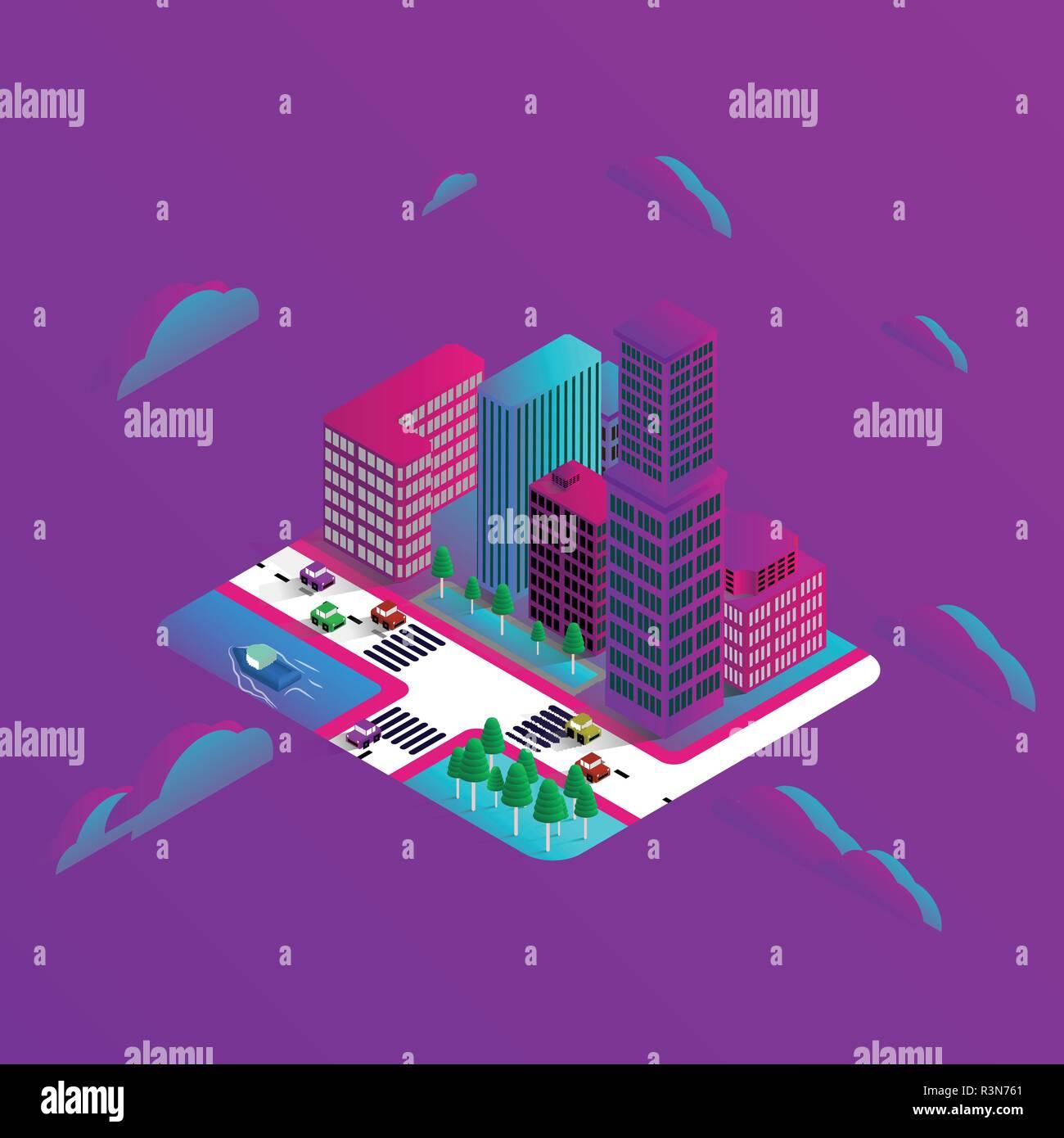 Floating house future im genes de stock floating house for Crea casa 3d