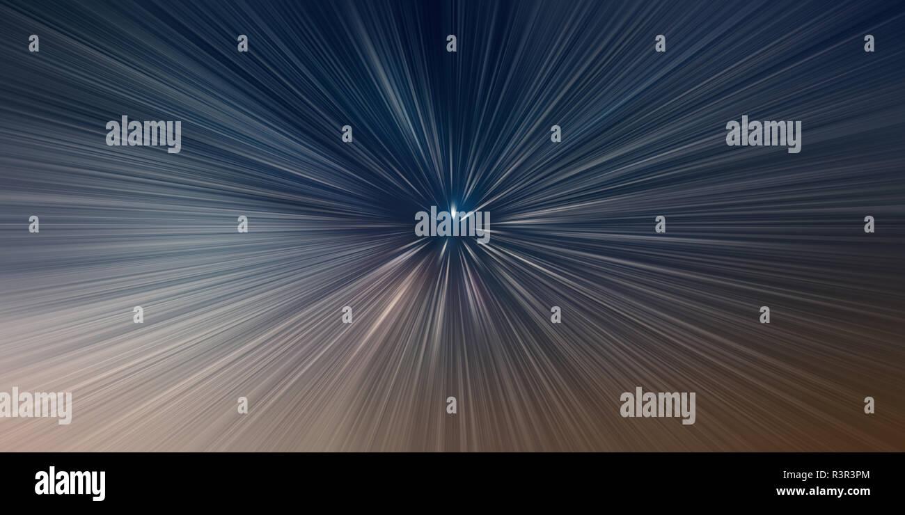 Salto en el tiempo, la velocidad de la luz, tiempo de viaje concepto antecedentes Imagen De Stock