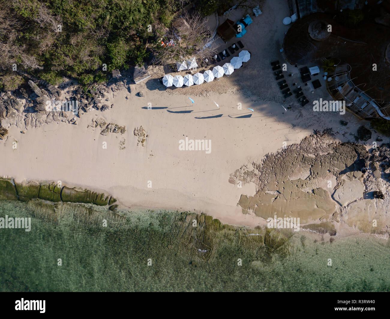 Indonesia, Bali, vista aérea de Melasti beach Foto de stock