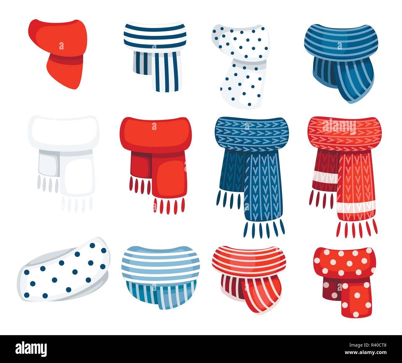 64330b31b58a Conjunto de bufandas para niños y niñas en clima frío. Ropa de ...
