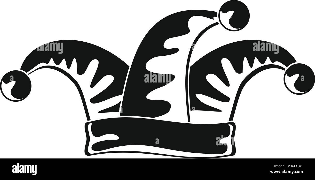 Icono de bufón. Simple ilustración de bufón icono vectoriales para diseño  web aislado sobre fondo b5beaf195d1