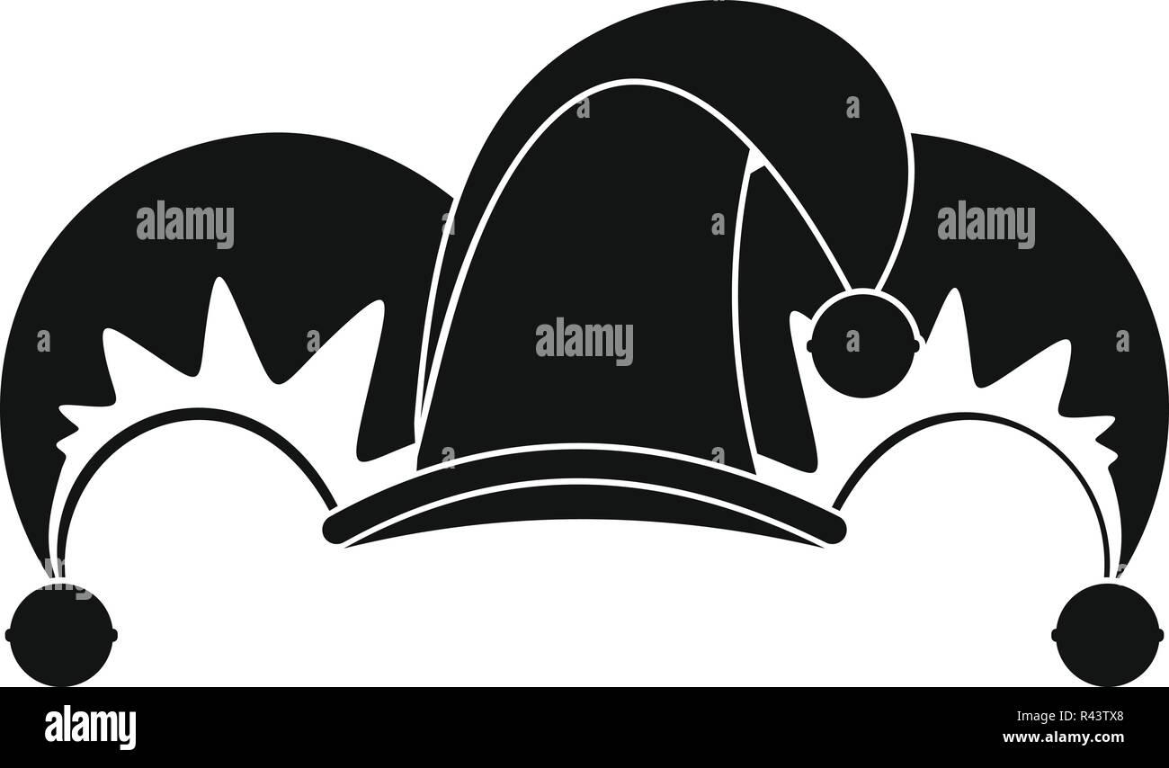 Trabajo de payaso jester icono. Simple ilustración de trabajo payaso bufón  icono vectoriales para diseño 3ee13b2a7b4