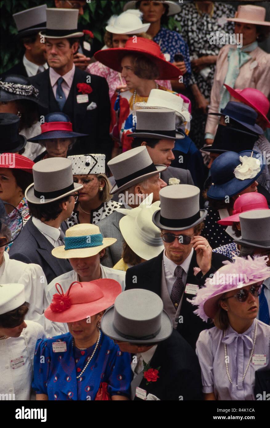 Hombre Boda Royal Ascot Sombrero de copa