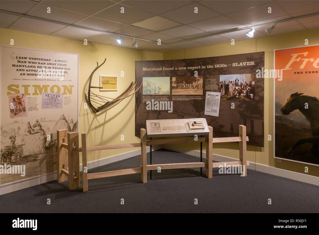 Museo Rokeby Ferrisburg Vermont Foto de stock