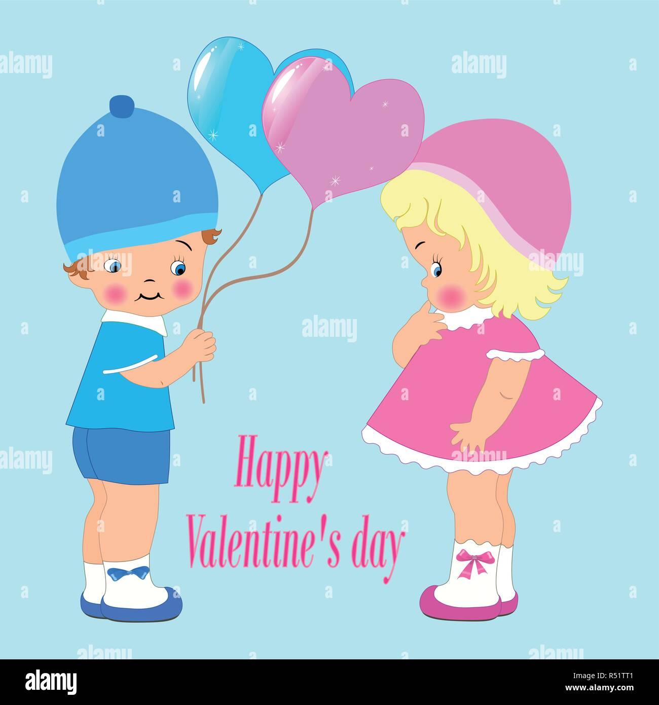 Feliz Día De San Valentín De Invitación O Tarjeta De