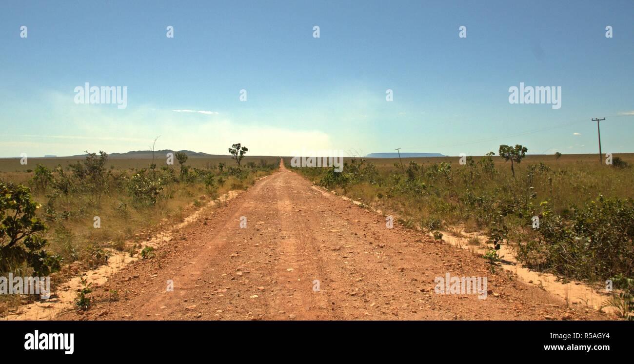 Caminhos do Jalapão - Brasil Foto de stock