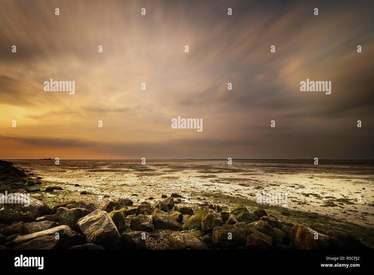 Schiermonnikoog Foto de stock