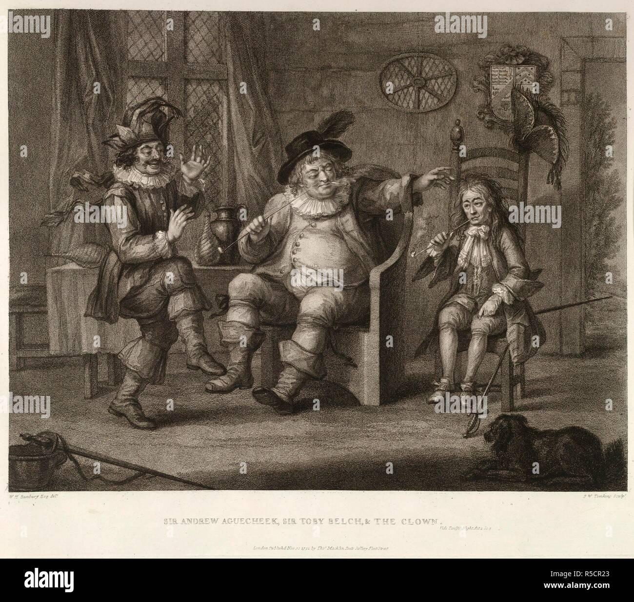 Henry William Bunbury Bunbury Imágenes De Stock & Henry