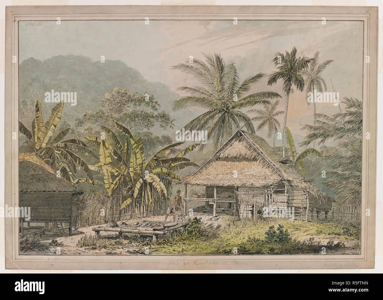 Ver En Korakatoa Ver En Krakatoa Con Choza Nativa Dos Cabañas