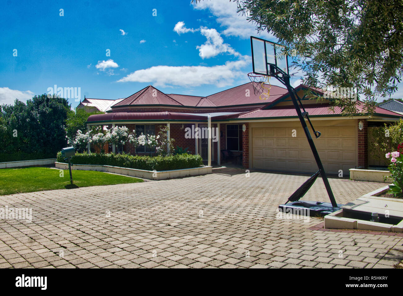 Baloncesto net en Torridon Loop, wanneroo Imagen De Stock