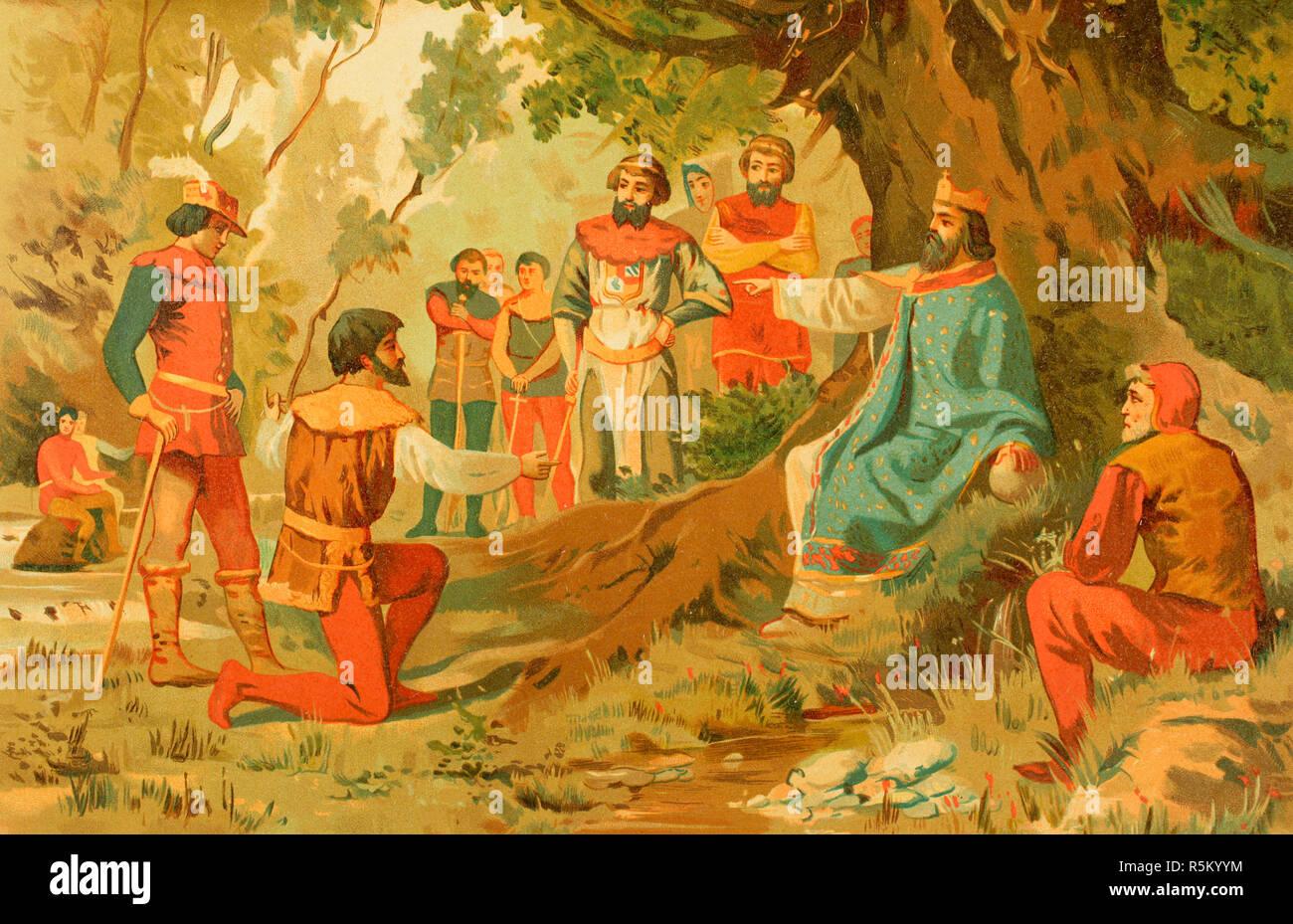 Carlomagno 742 814 El Rey De Los Francos Lombardos Y