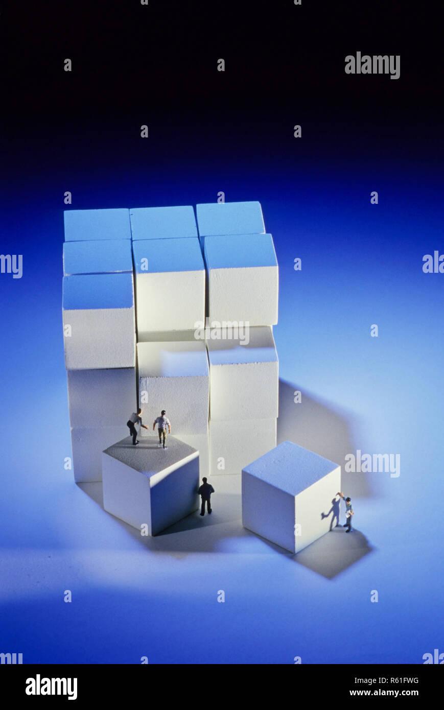 Concepto - Trabajo Imagen De Stock