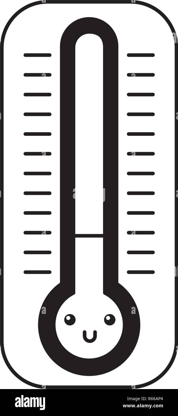 Termometro Kawaii Personaje De Dibujos Animados Imagen Vector De Stock Alamy Non inquina, non si rompe e il display viene letto con grande facilità. https www alamy es termometro kawaii personaje de dibujos animados image227562892 html