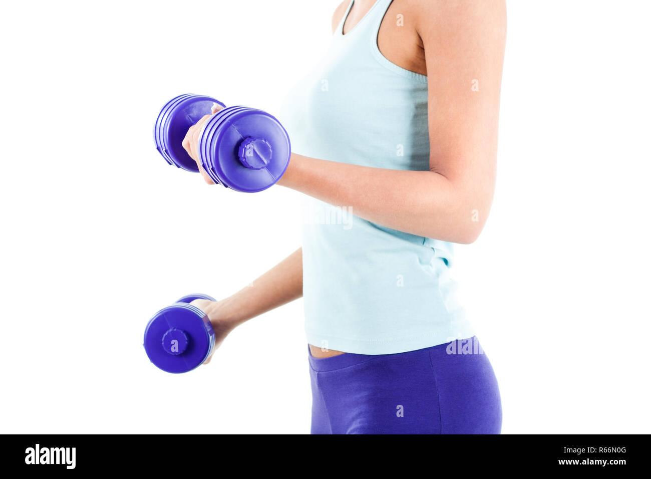 Chica fitness Imagen De Stock