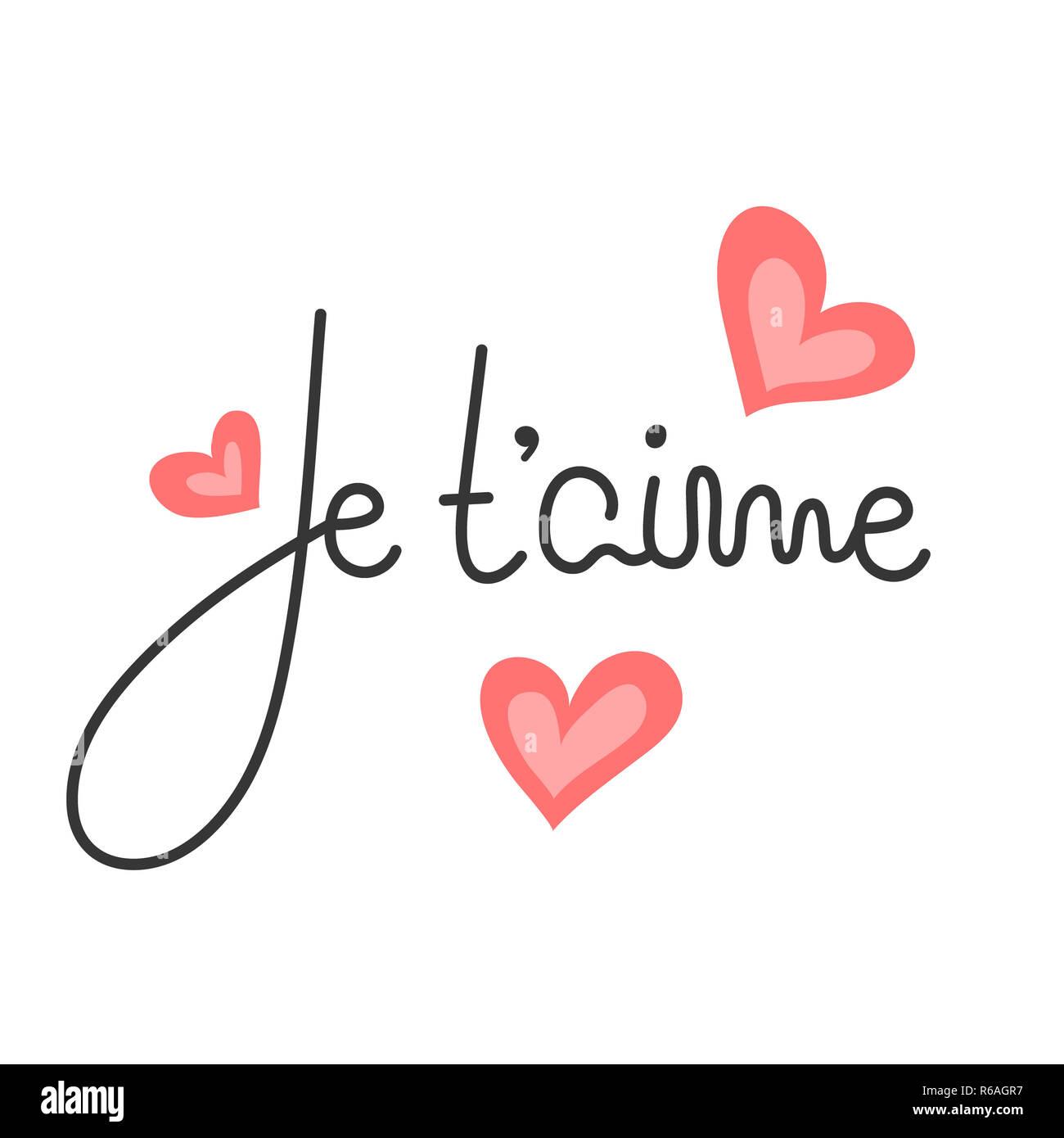 Je Taime Amour Imágenes De Stock Je Taime Amour Fotos De