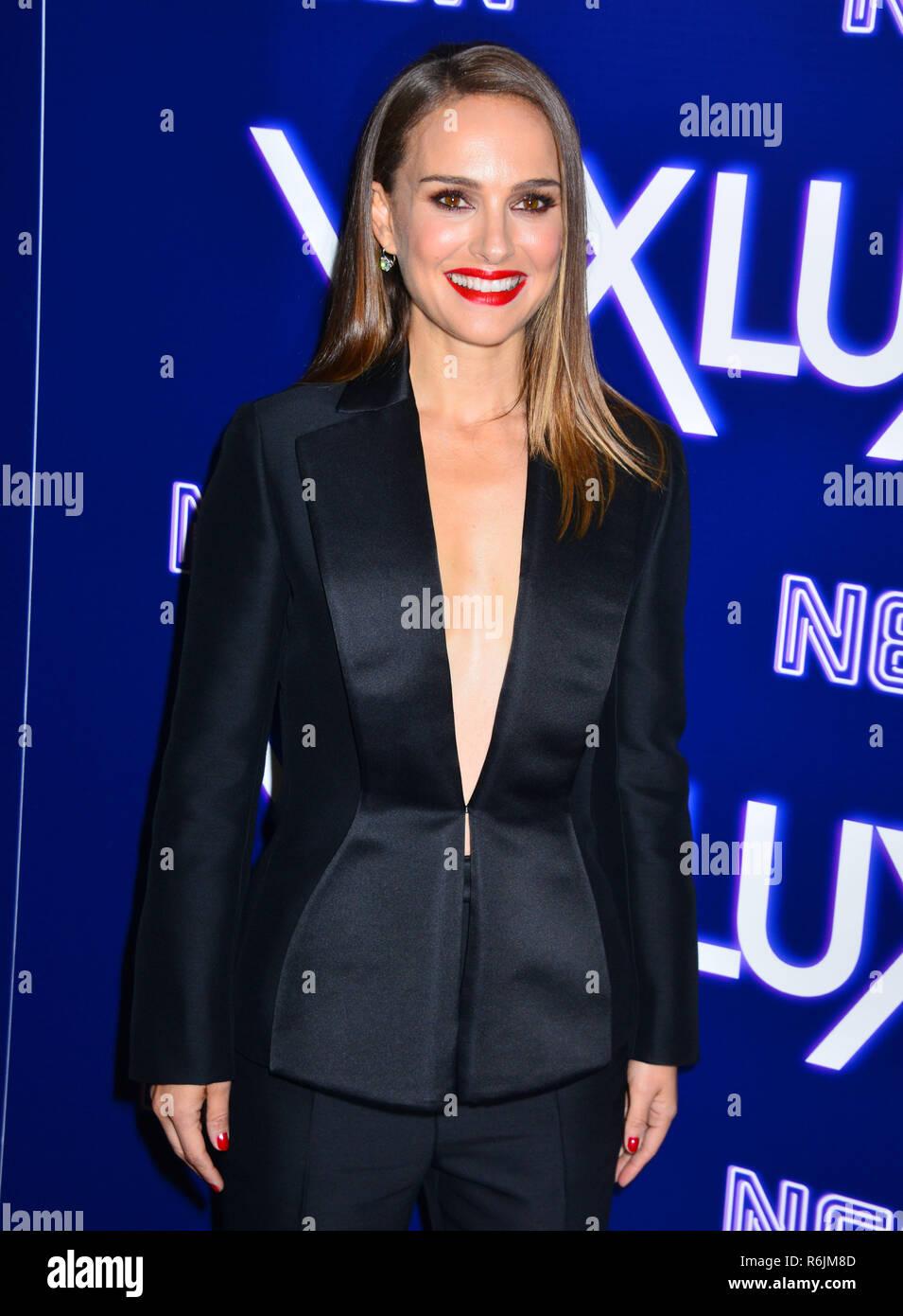 Los Angeles, California, EEUU. El 05 de diciembre de 2018. Un_Natalie Portman 005 en la Premiere de neón de Vox Lux en ArcLight Hollywood el 5 de diciembre de 2018, en Hollywood, California. Crédito: Tsuni / USA/Alamy Live News Imagen De Stock