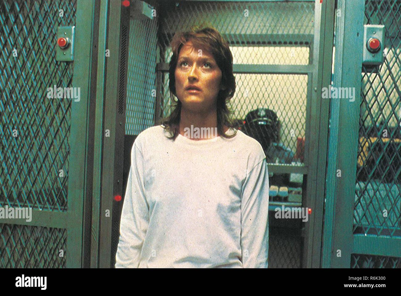 SILKWOOD 1983 20th Century Fox Film con Meryl Streep Imagen De Stock
