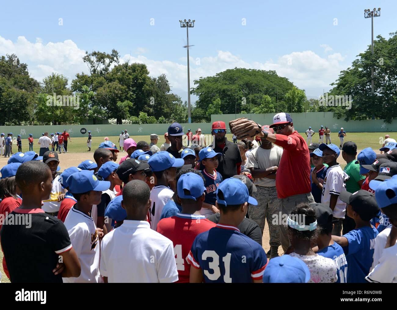 Dominican Republic Baseball Imágenes De Stock   Dominican Republic ... fc7966a4af53
