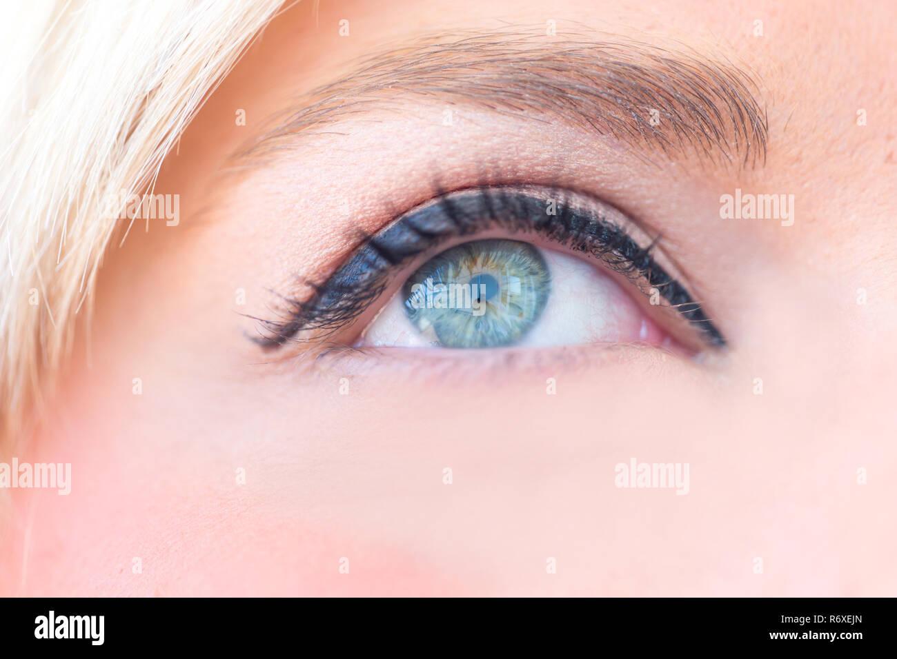 El ojo humano Foto & Imagen De Stock: 228004973 - Alamy