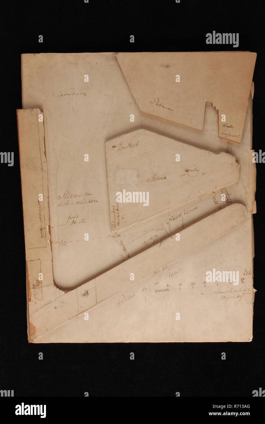 Pieter Adams Modelo A Escala Del Diseño De Zalmhaven En