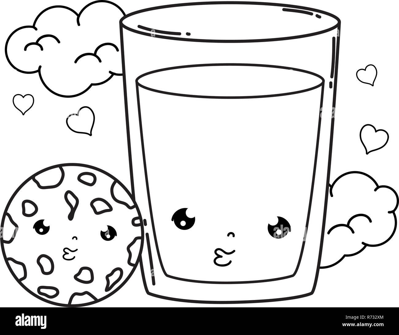 Breakfast Caricature Imágenes De Stock Breakfast