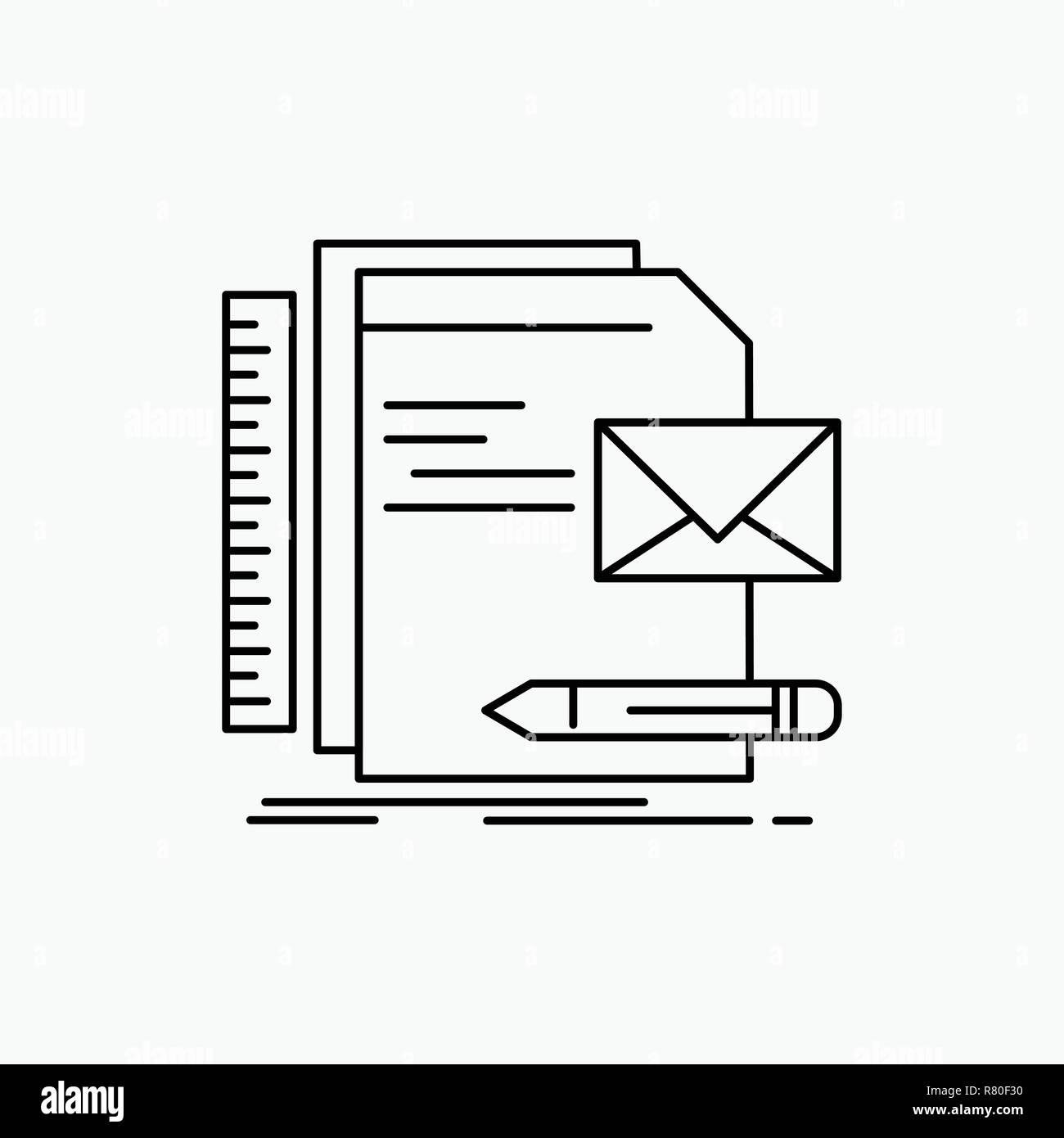 Marca Empresa Identidad Carta De Presentacion Icono De