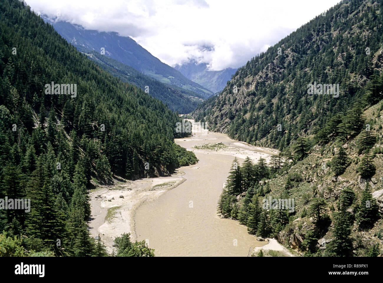El río Ganga Imagen De Stock