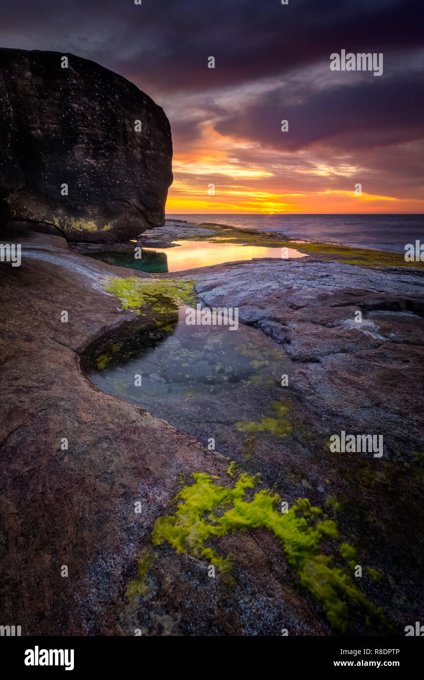Marina puesta del sol Imagen De Stock