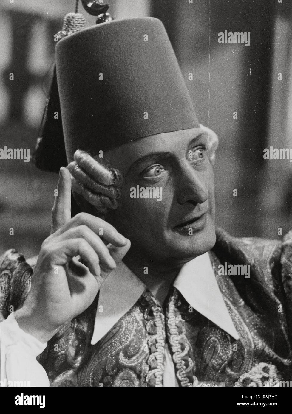 El título de la película original: MUNCHHAUSEN. Título en inglés: MUNCHHAUSEN. Año: 1943. Director: Josef von Bakú. Estrellas: Hans Albers. Crédito: U.F.A / Álbum Foto de stock