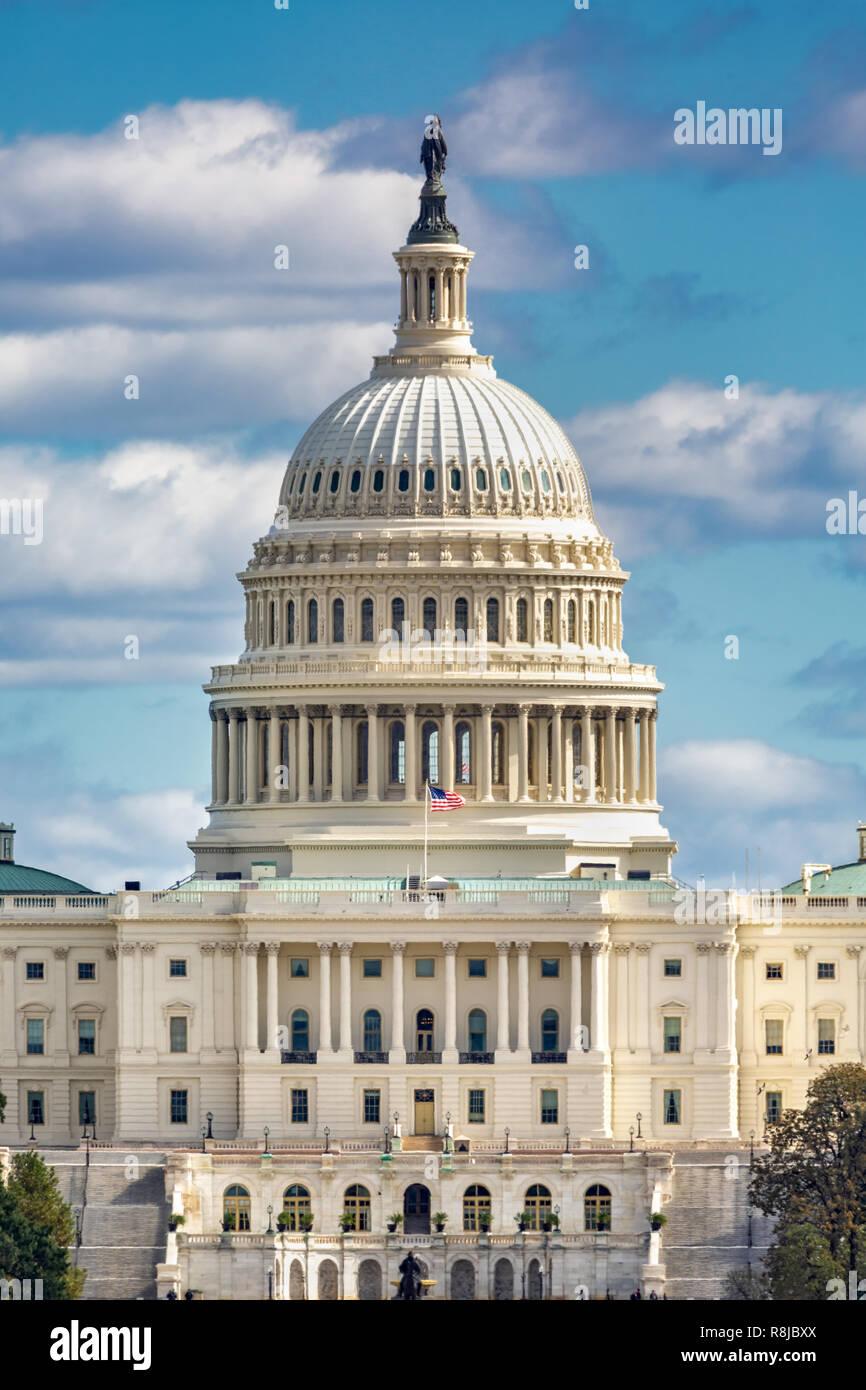 Capitolio de los Estados Unidos Foto de stock