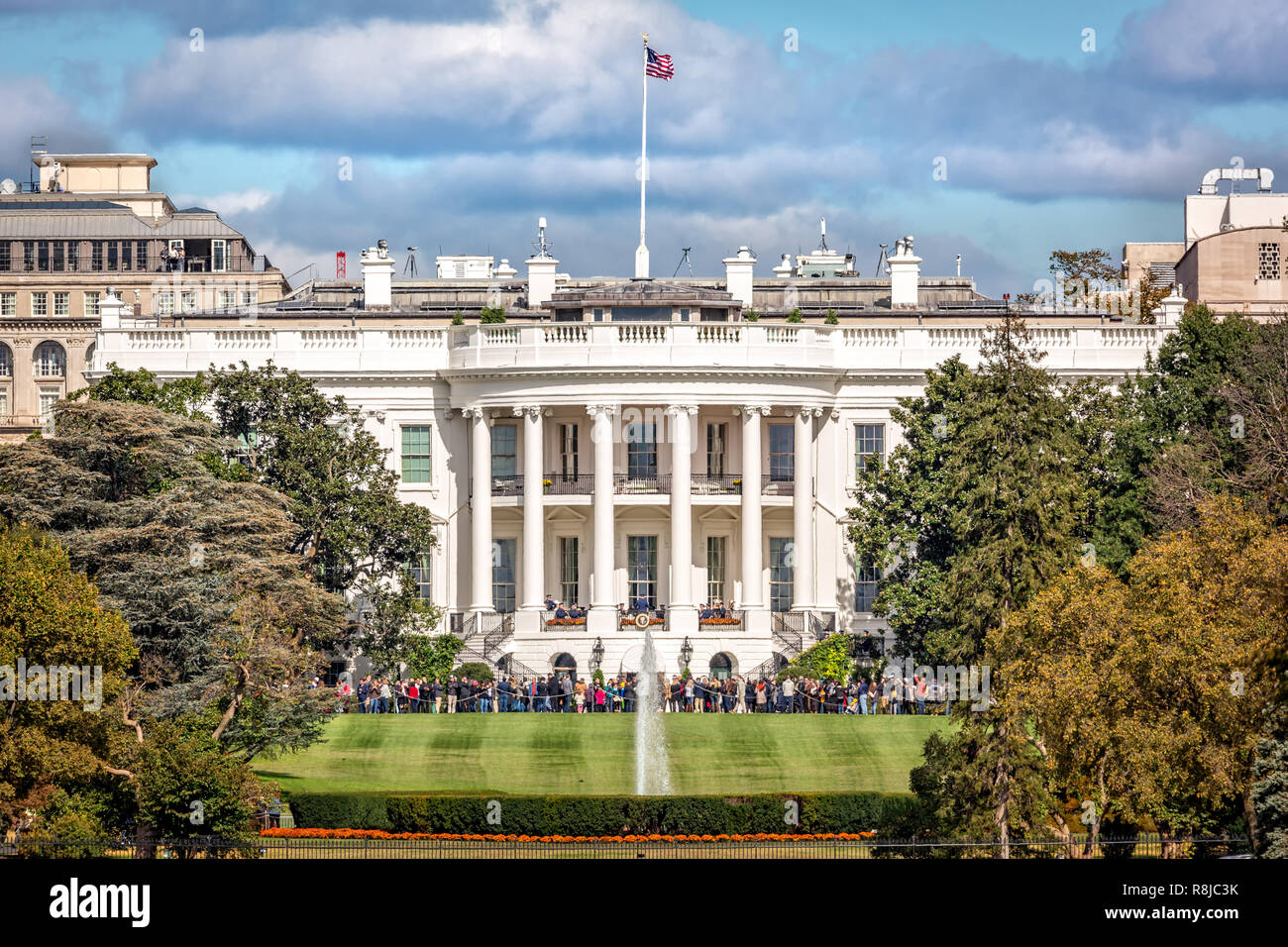 La Casa Blanca en Washington D.C. Foto de stock
