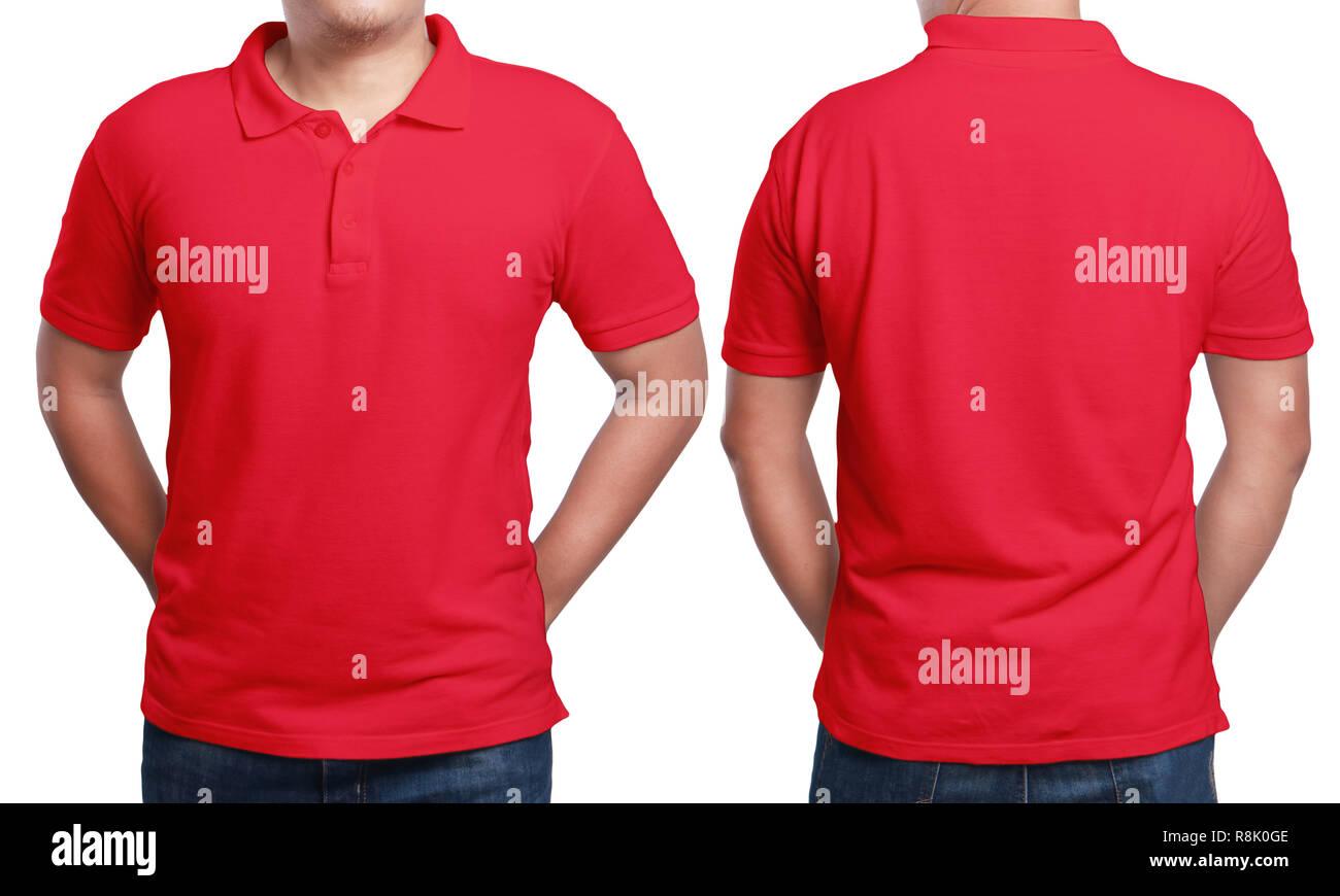 9956b2114 Red Polo T Shirt Imágenes De Stock   Red Polo T Shirt Fotos De Stock ...