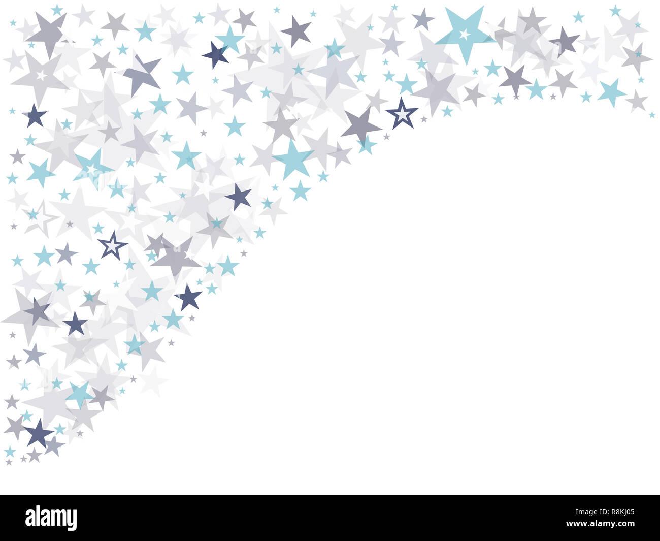 Resumen de diseño de fondo de estrellas. Vector, ilustración, eps10. Imagen De Stock