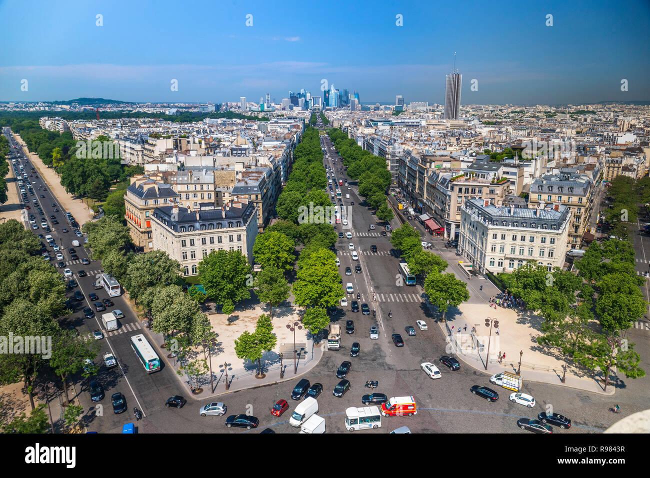 La Defense de París Foto de stock