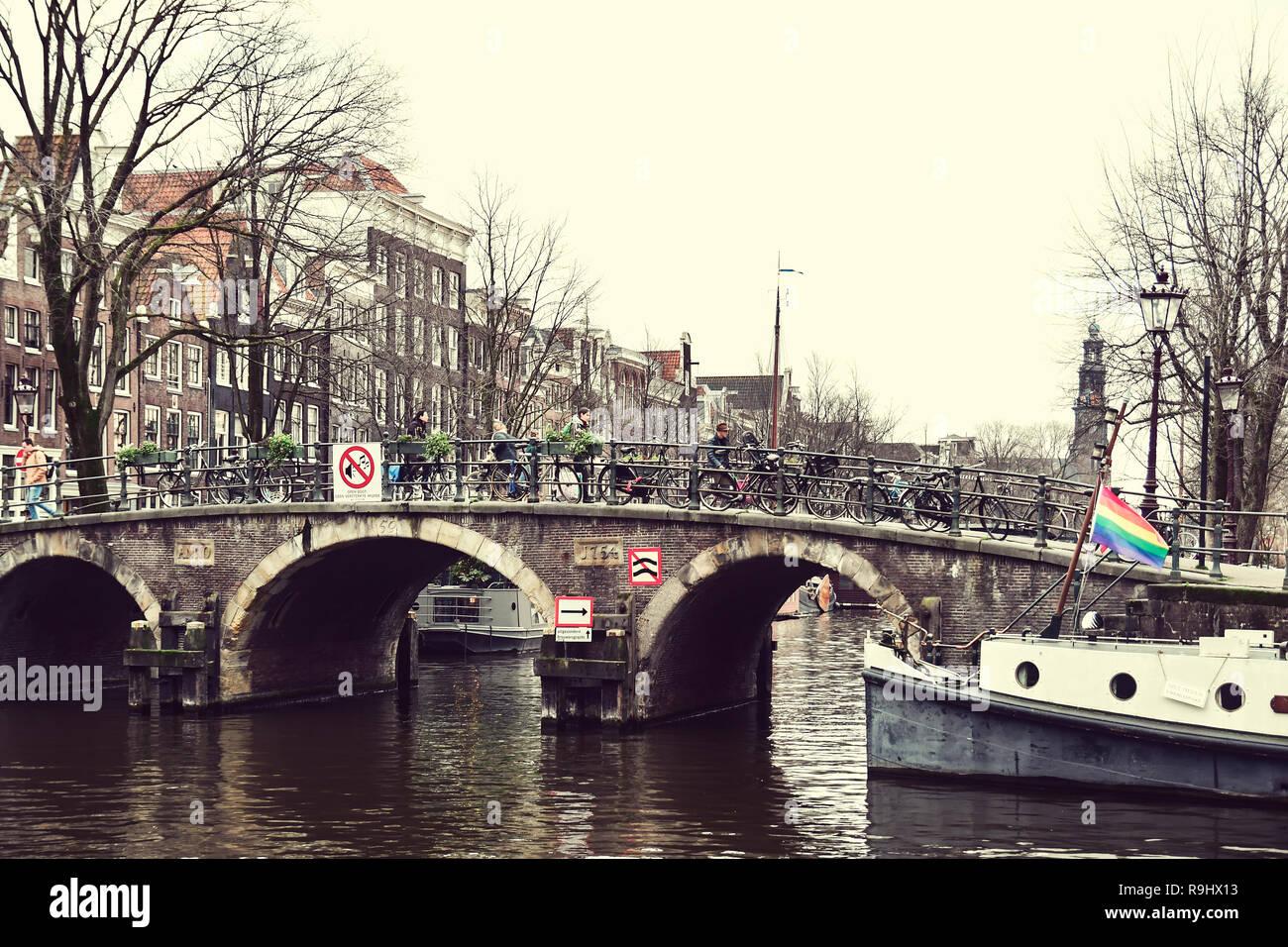 Ámsterdam, Países Bajos Foto de stock