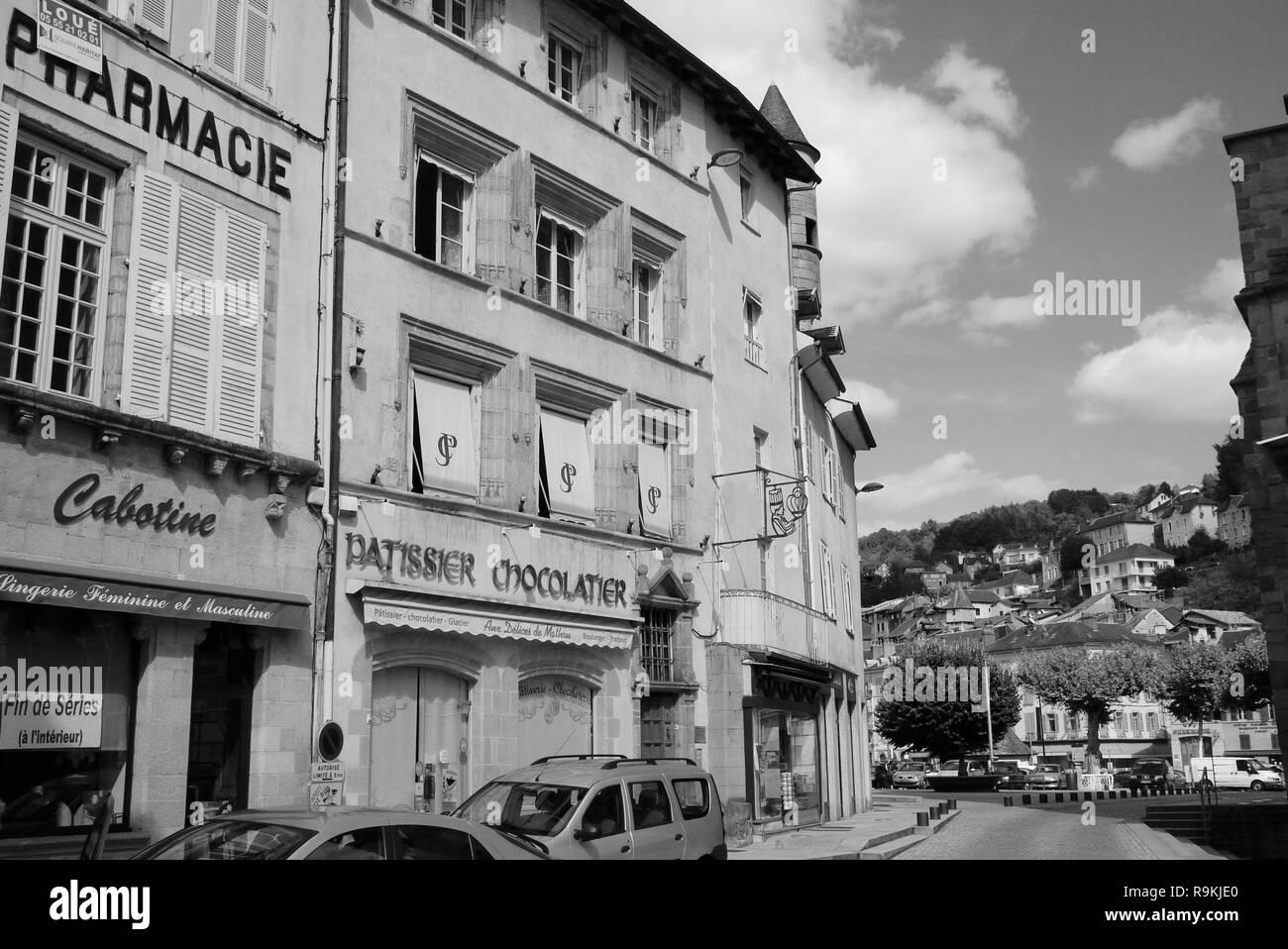 Reportaje: dos horas en el centro de la ciudad, donde François Hollande se convirtió en presidente de la República Francesa, Tul, Francia Imagen De Stock