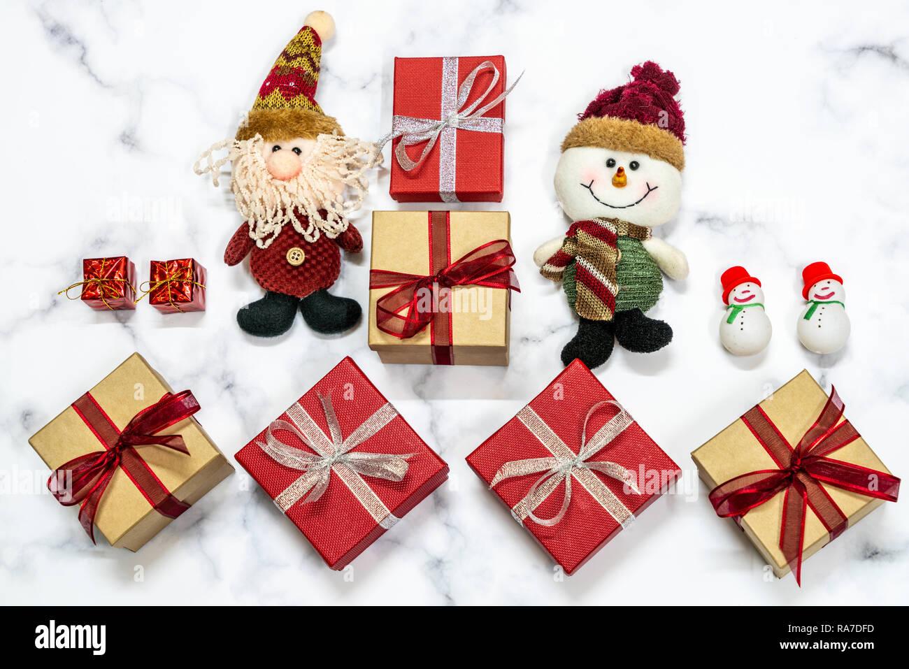Muñecos De Nieve Y Santa Navidad Etiquetas de regalo presente favor etiquetas
