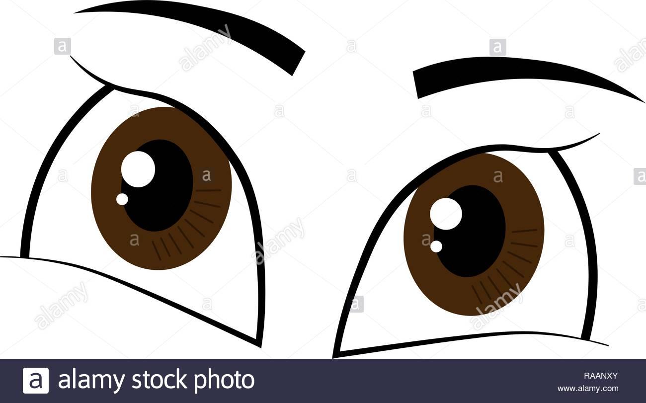 Cartoon Big Eyes Imágenes De Stock Cartoon Big Eyes Fotos