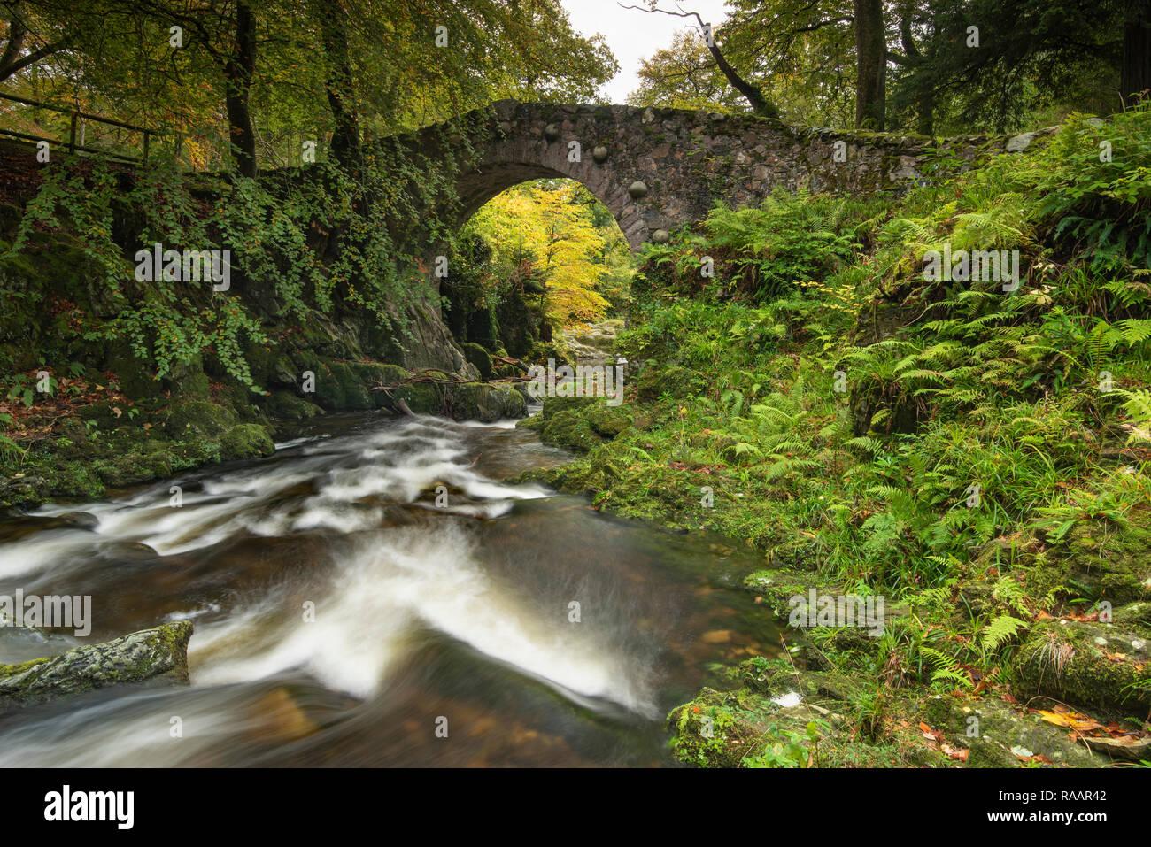 Puente Foleys Foto de stock