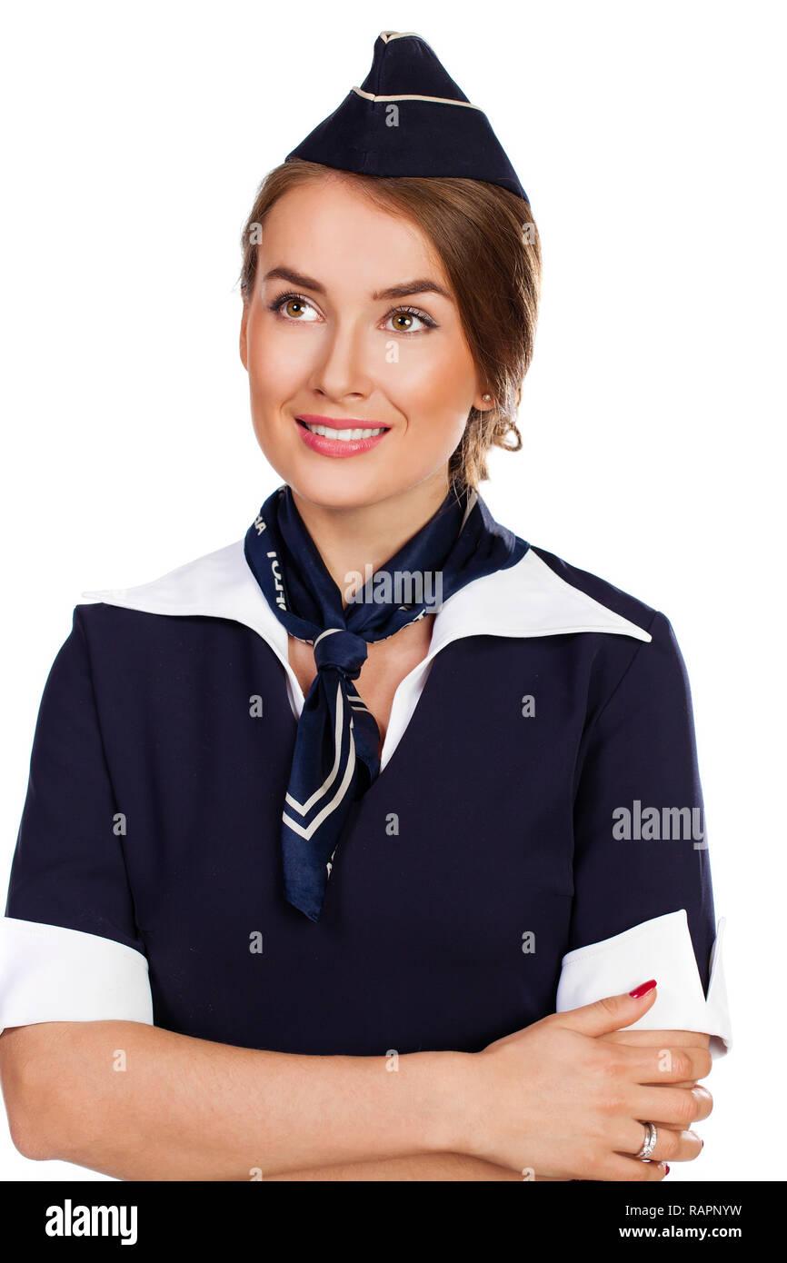 df9f27d33 Air Hostess Working Imágenes De Stock   Air Hostess Working Fotos De ...
