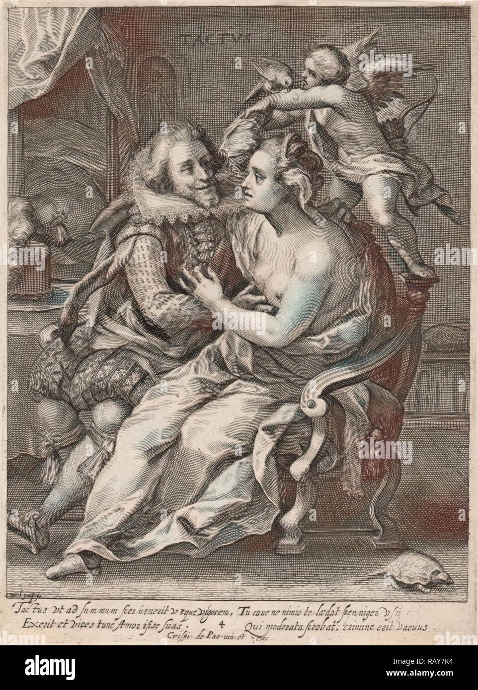 Toque, Willem van de Passe, Crispijn van de Passe (I), 1607 - 1637. Reimagined by Gibon. Arte clásico con un moderno reinventado Imagen De Stock