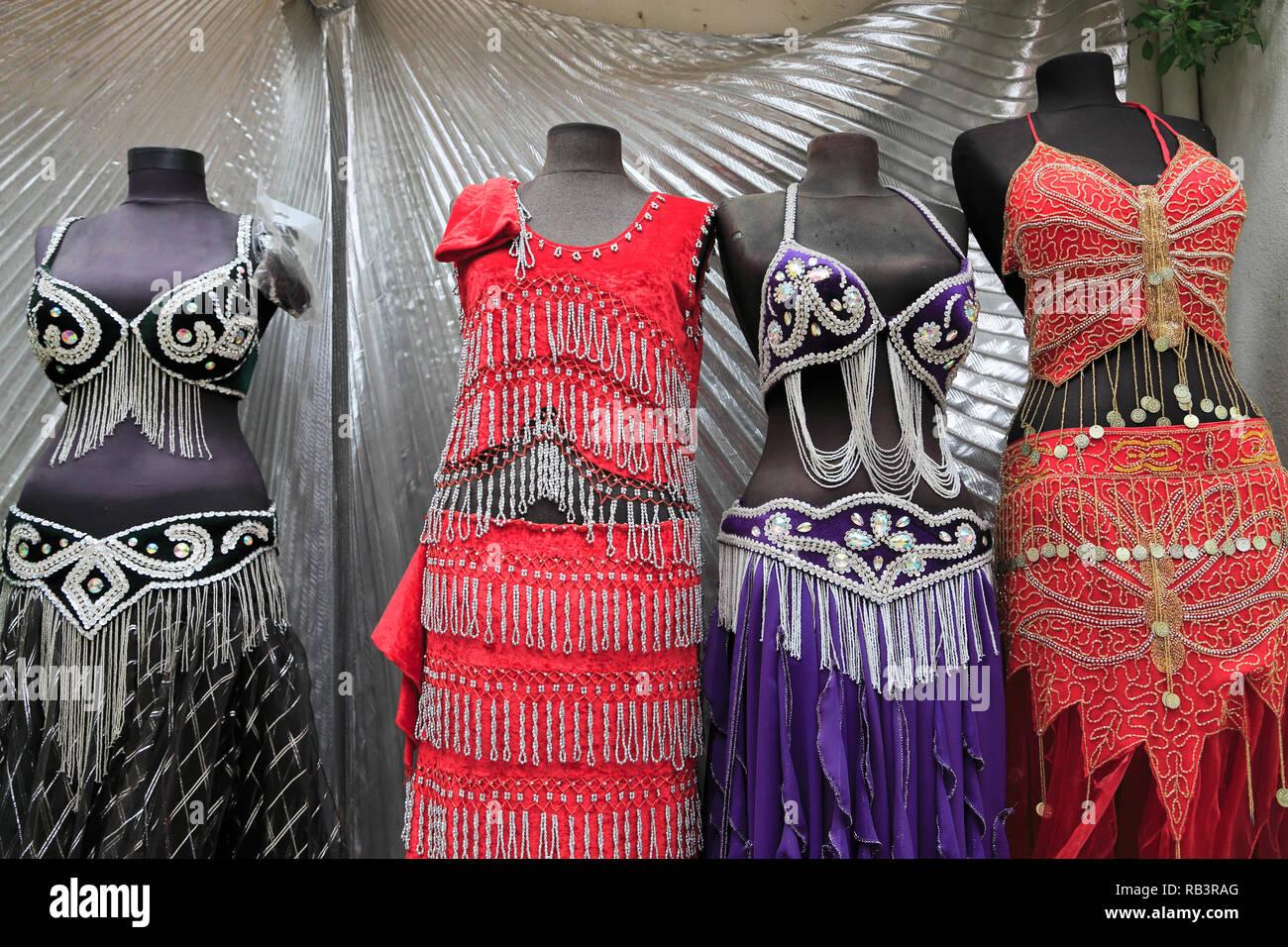 buy popular ffff7 292a5 Trajes de danza del vientre, el Gran Bazar, el Kapali Carsi ...