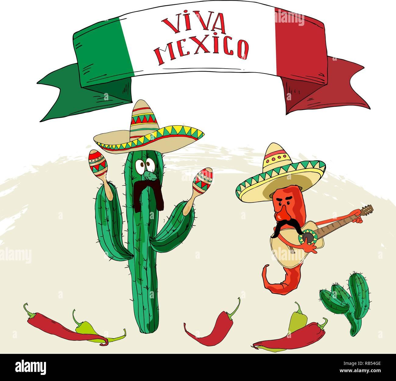 Sombrero Y Guitarra Viva Mexico Fiestas Patrias - ViewLetter.CO fc1cd34e0c1