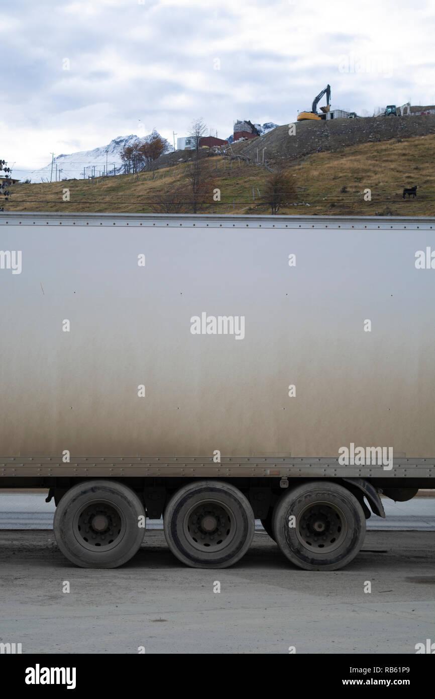 Camión pecado delante ni atrás Imagen De Stock